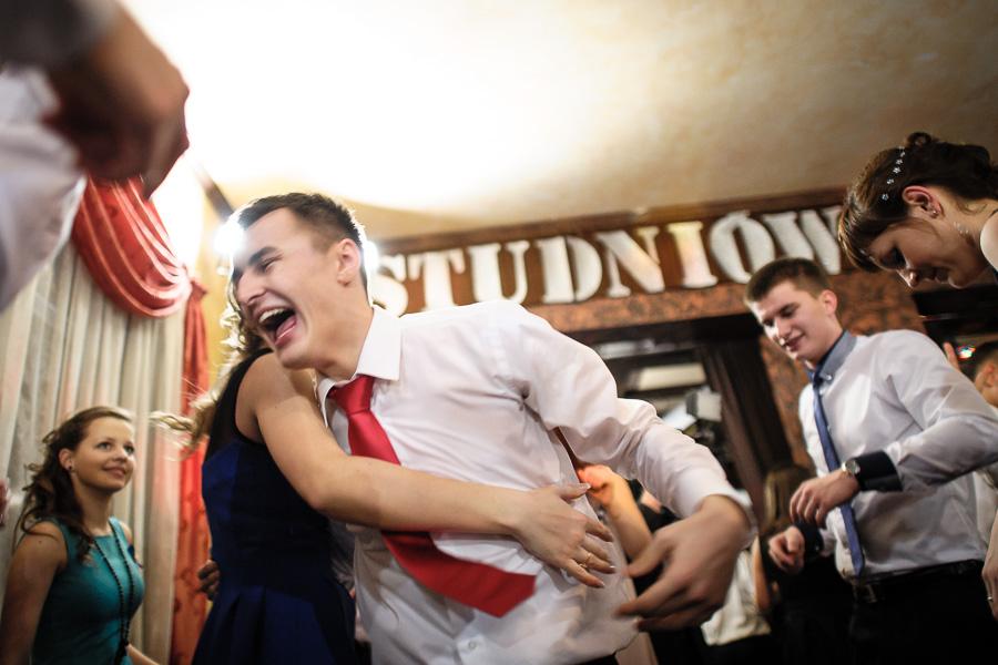 DwaSpojrzenia.pl, Andrzej Partyka, Łukasz Dziekan, Chreptus, Liceum Ogólnokształcące nr II im. Joachima Chreptowicza, Ostrowiec Świętokrzyski, studniówka 2013, bal maturalny, zabawa, fotograf